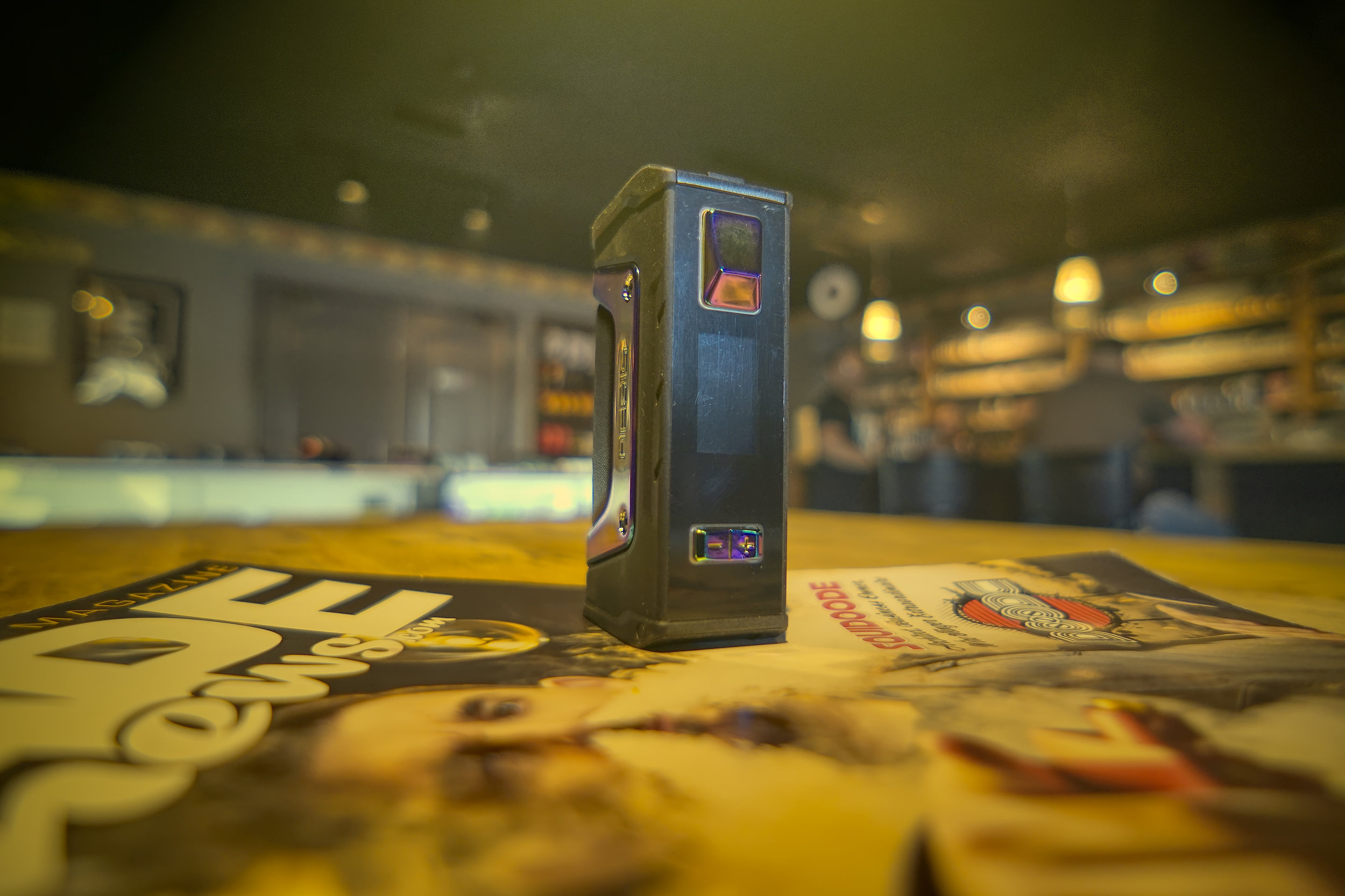 AEGIS LEGEND MOD 200W   When GeekVape designed the Aegis Legend 200W Mod the goal was to build a durable device that could stand up to the day-to-day rigors that some vapers put their hardware through. Essentially they weren't designing a mod for someone that sits at a desk all day. It would certainly serve you fine, but the Aegis Legend is made to be taken outside, dropped in the dirt, and even sit in the rain a bit if needed.  Featuring a shock-resistant design with IP67 waterproofing and dustproofing, the Aegis Legend is built to withstand most of what the world, and you, can throw at a mod. While you're not going to want to toss it off the side of a building or to the bottom of a lake, the Legend is more than capable of handling a fall from 1 meter or less. Plus it's rated to withstand full immersion for up to 30 minutes in 1 meter or less of water. The Legend is also built to keep dust and grit out, along with being designed for easy cleaning.