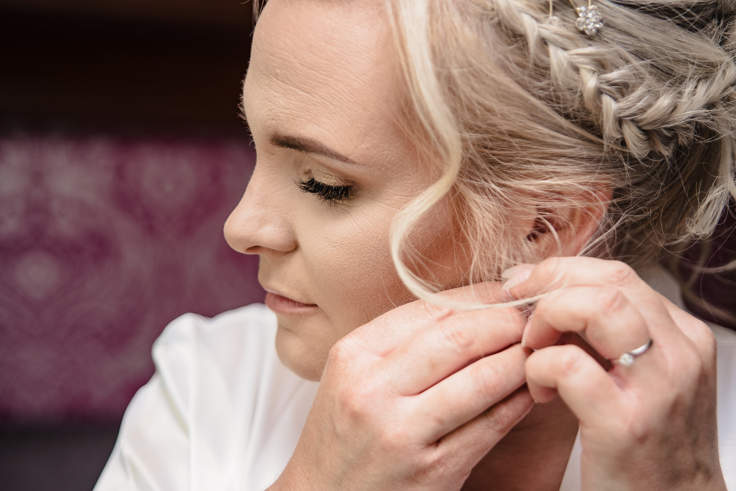 Wedding Preparation Gallery - There are so many beautiful moments prior to a wedding, from the anticipation for the bride and her closest friends and family, to all the crazy antics of the groom and his groomsmen