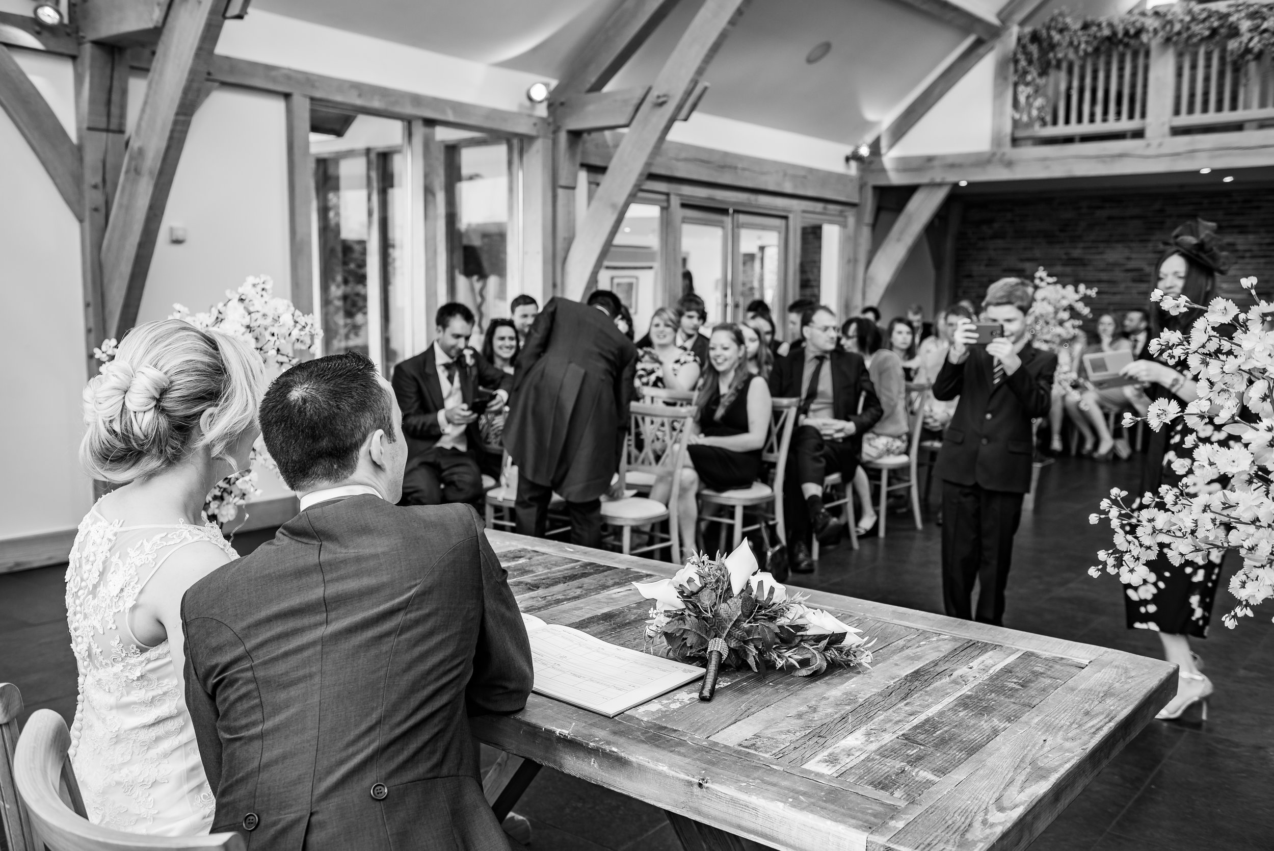 black and white wedding photography capturing memories as they go