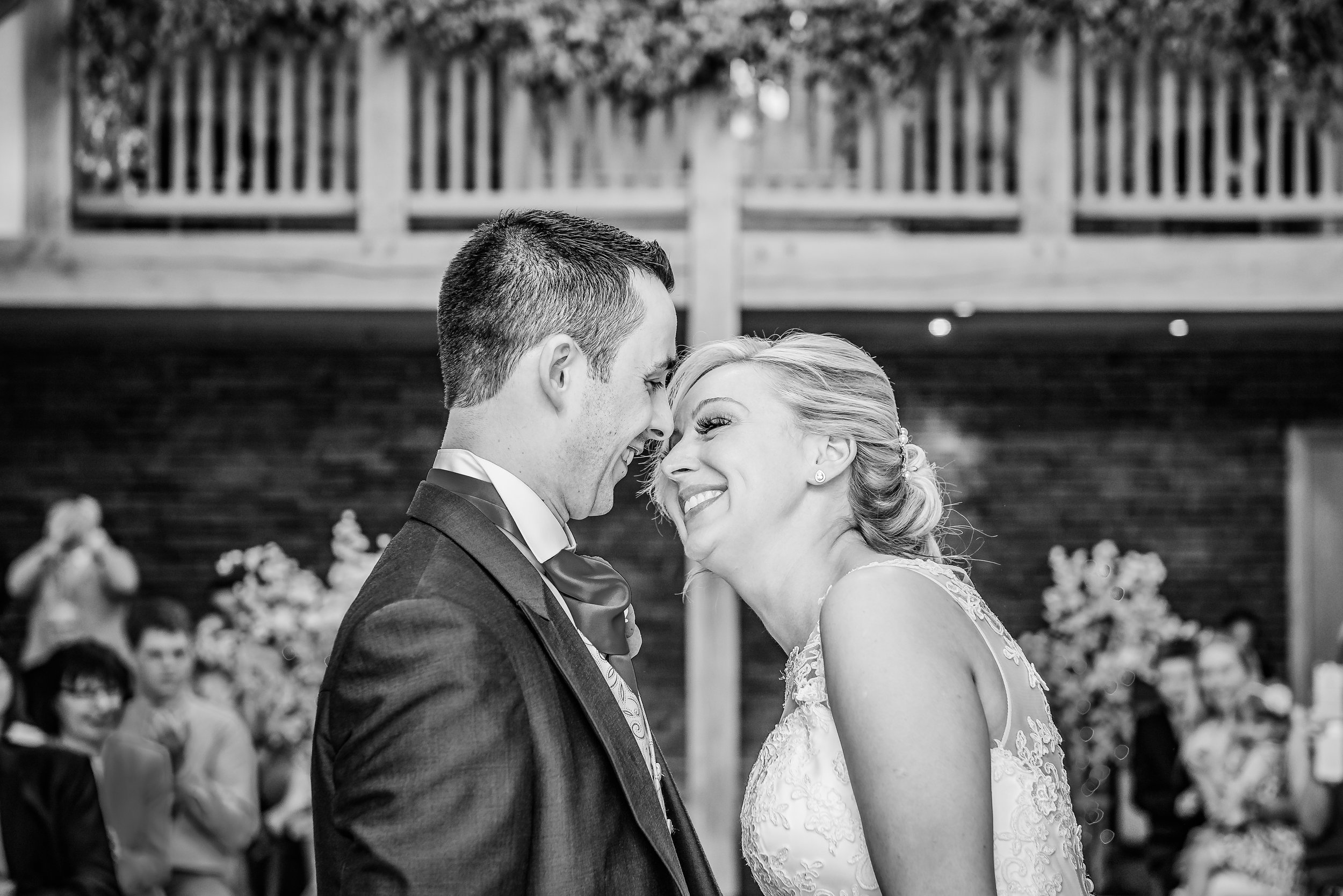 black and white wedding photography gorgeous moment between husband and wife