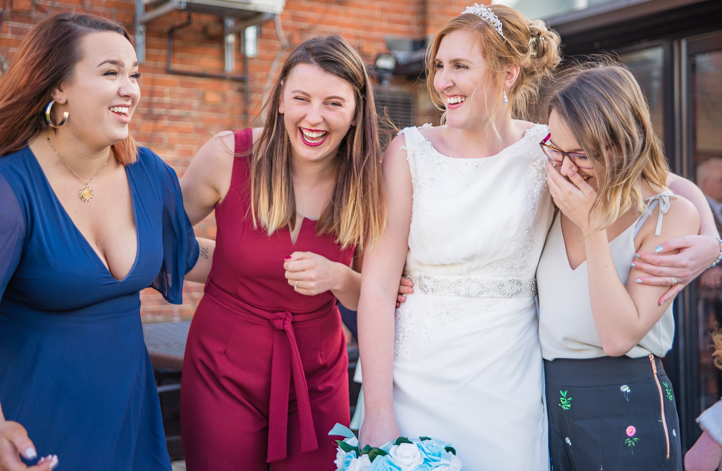 fun candid wedding photography