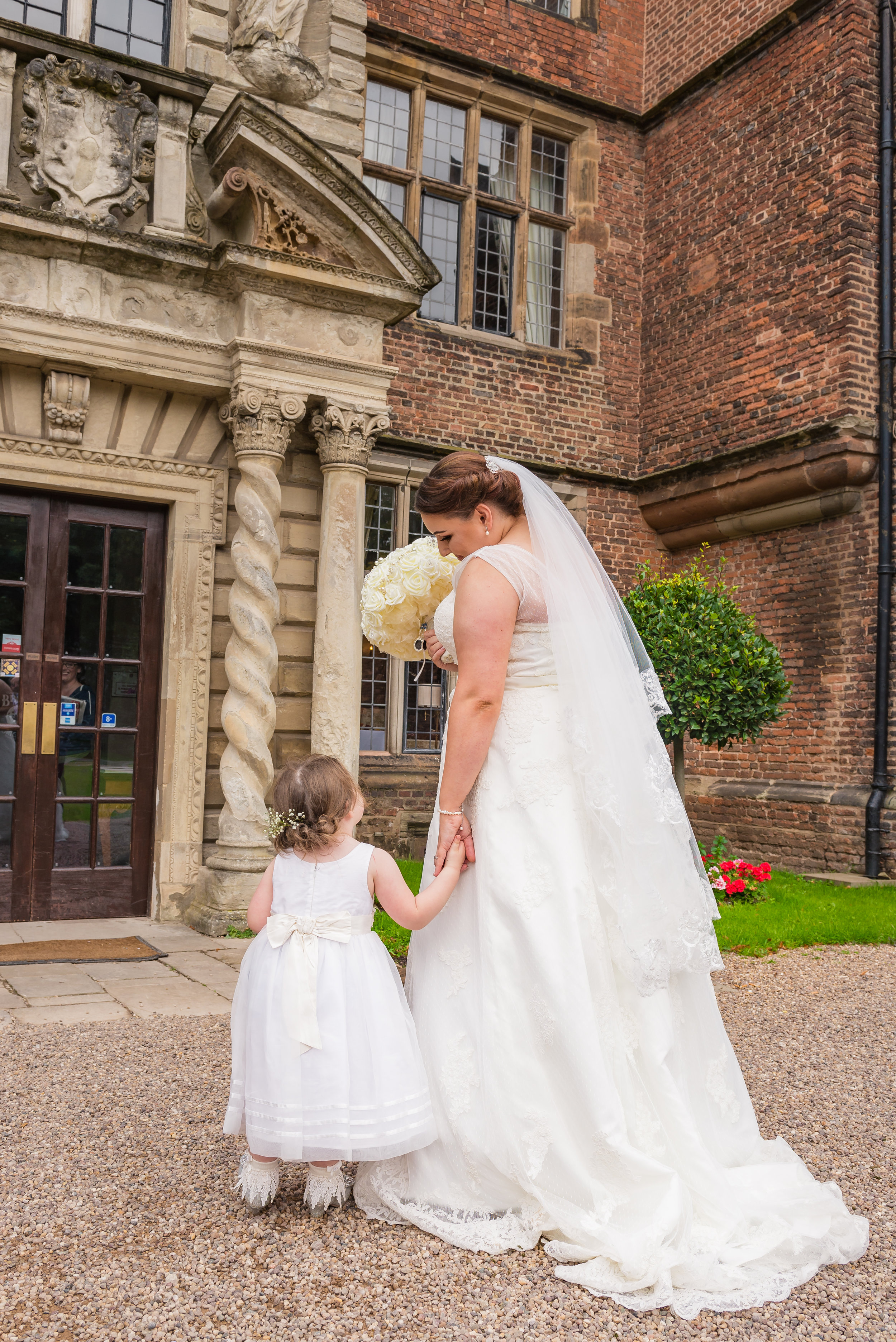 castle Bromwich hall hotel wedding photography one day my beautiful daughter it will be your turn