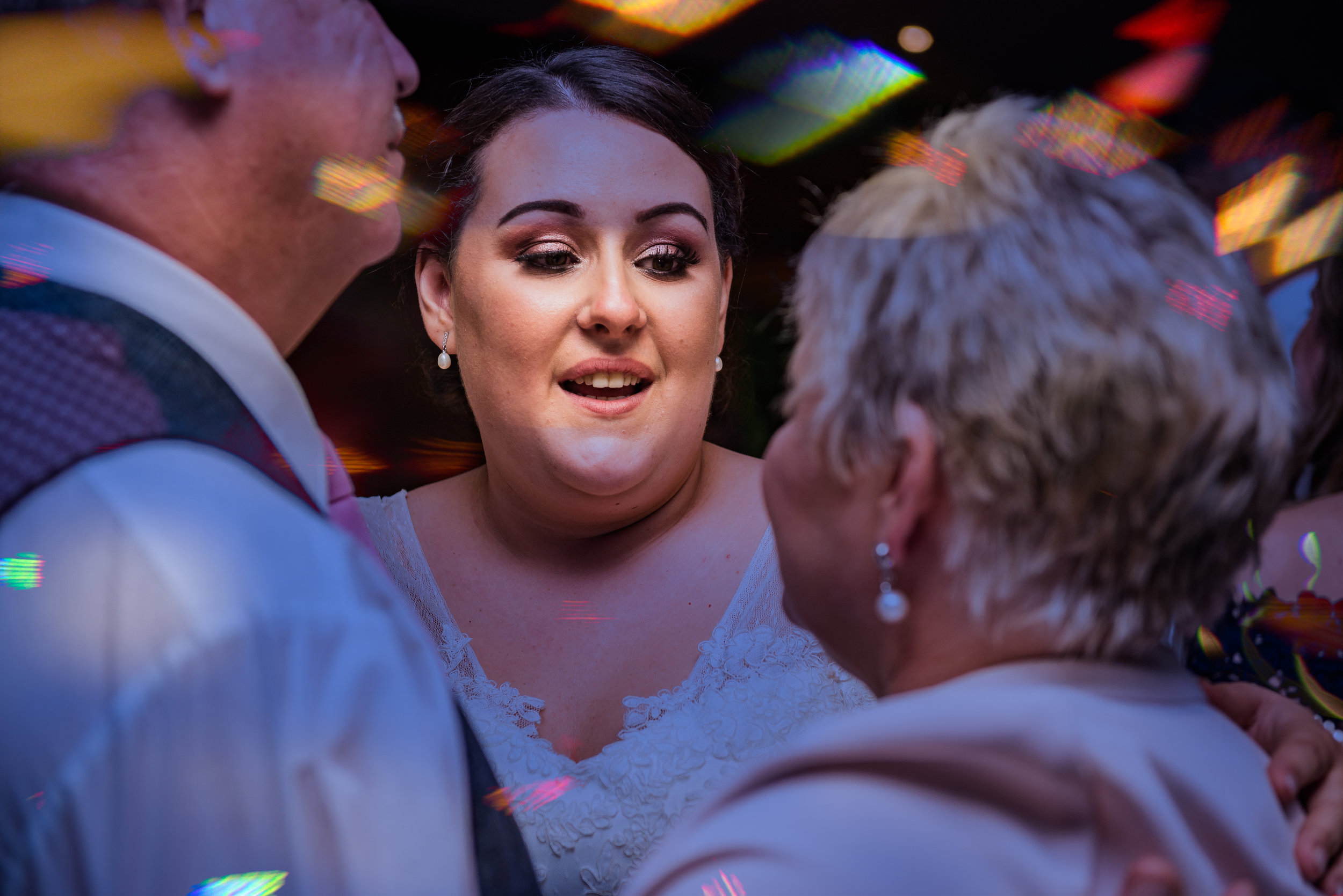 castle Bromwich hall hotel wedding photography natural photography with bride and her parents