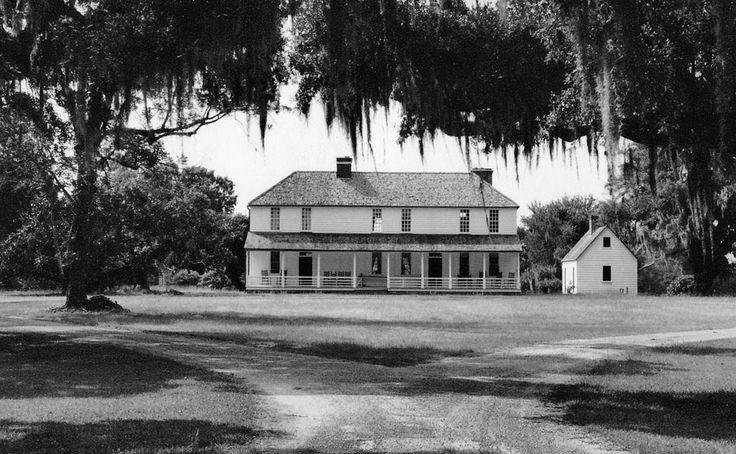 Χαρακτηριστικό αρχοντικό του 1800 σε φυτεία της Νότιας Καρολίνας