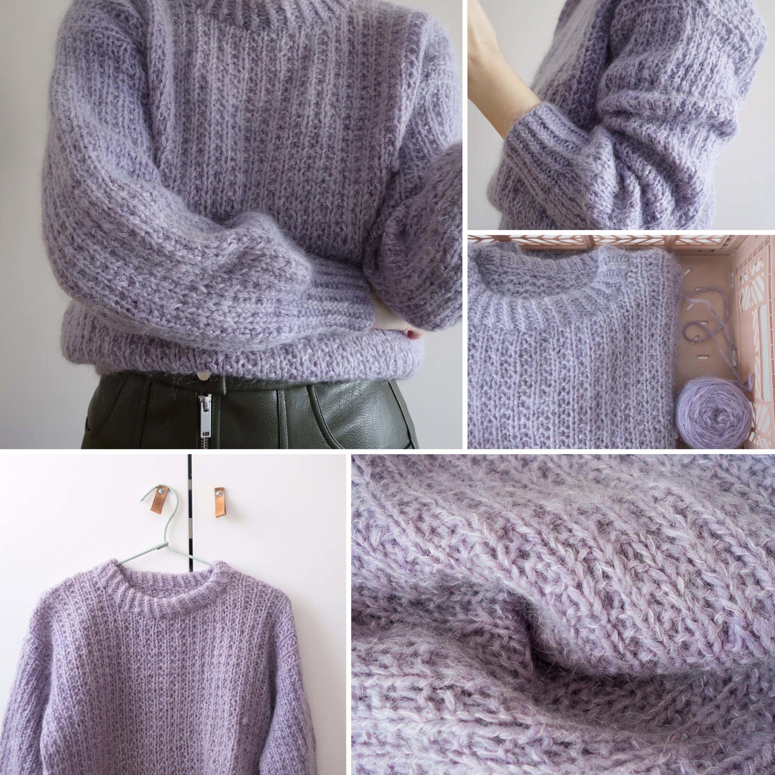 Velvety sweater