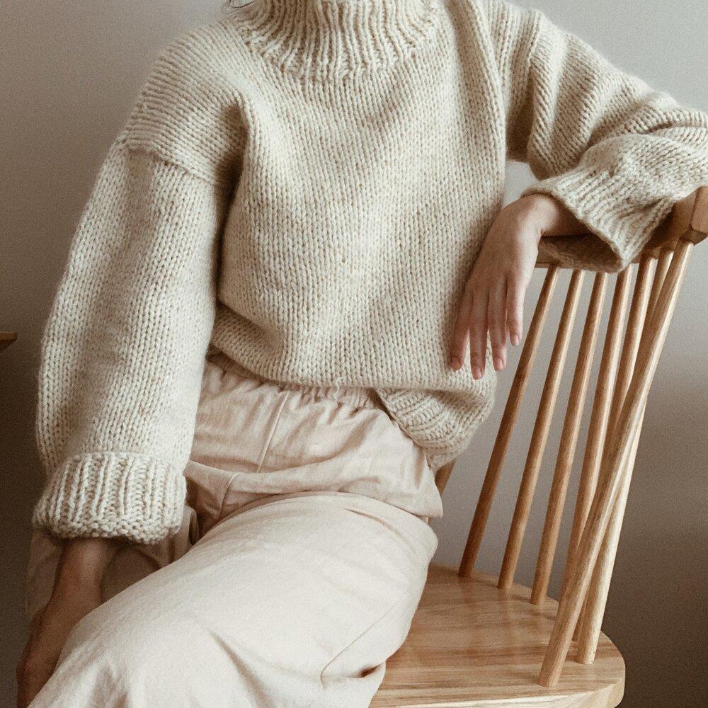 PDF Knit Turtleneck Pullover II