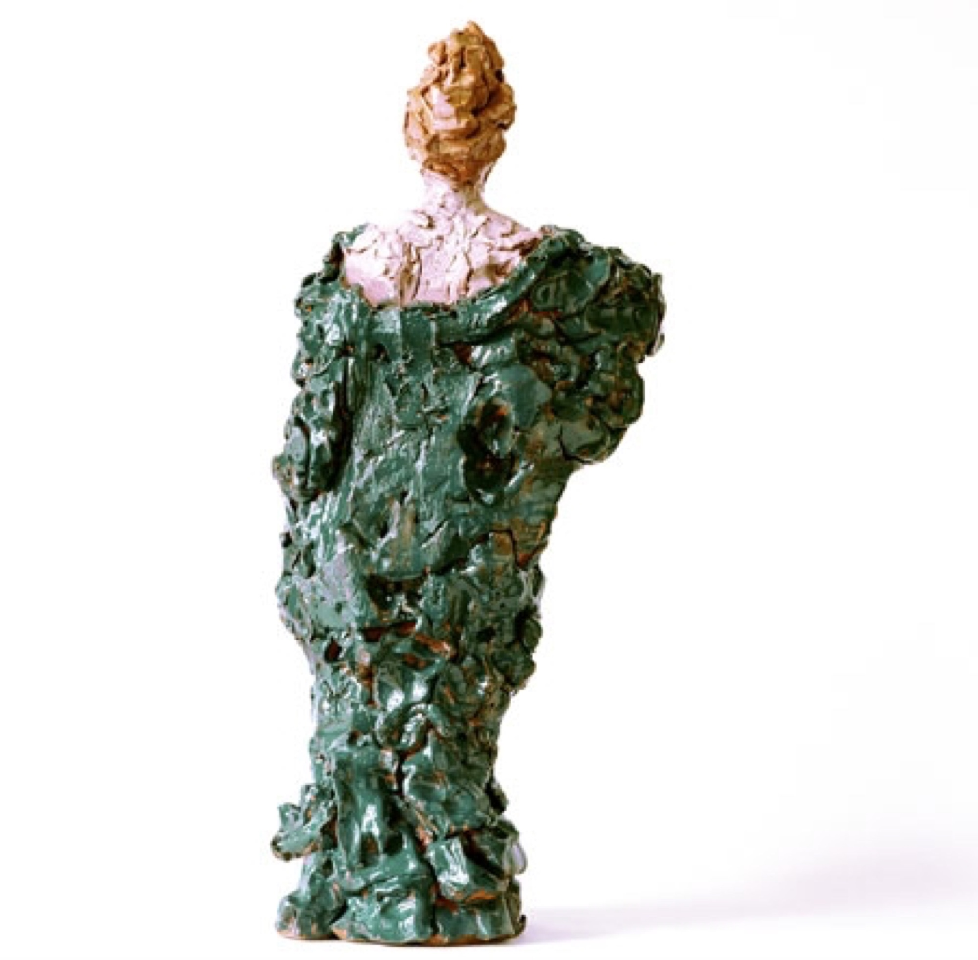 Karin  2006 Clay, glazed 50 cm
