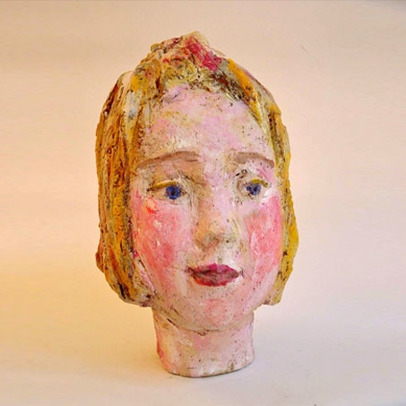 Francesca Spitzy  2002 Clay, acryl painted