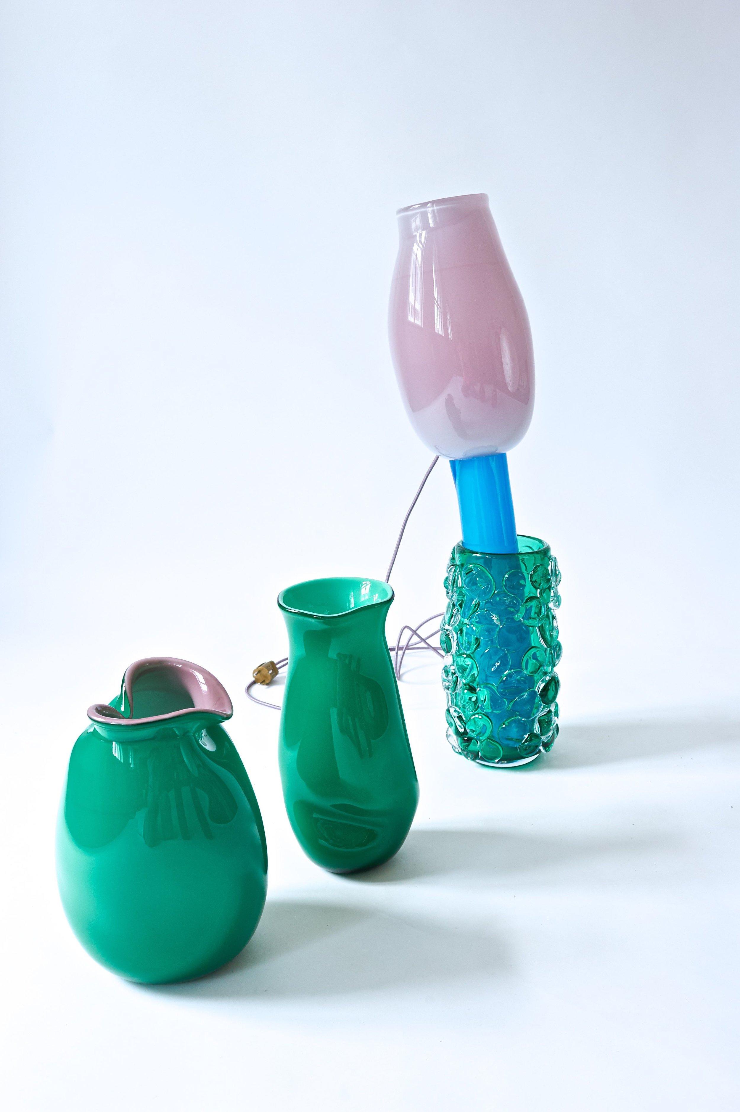 #85, #83, #98, & 99  2019   Murano glass