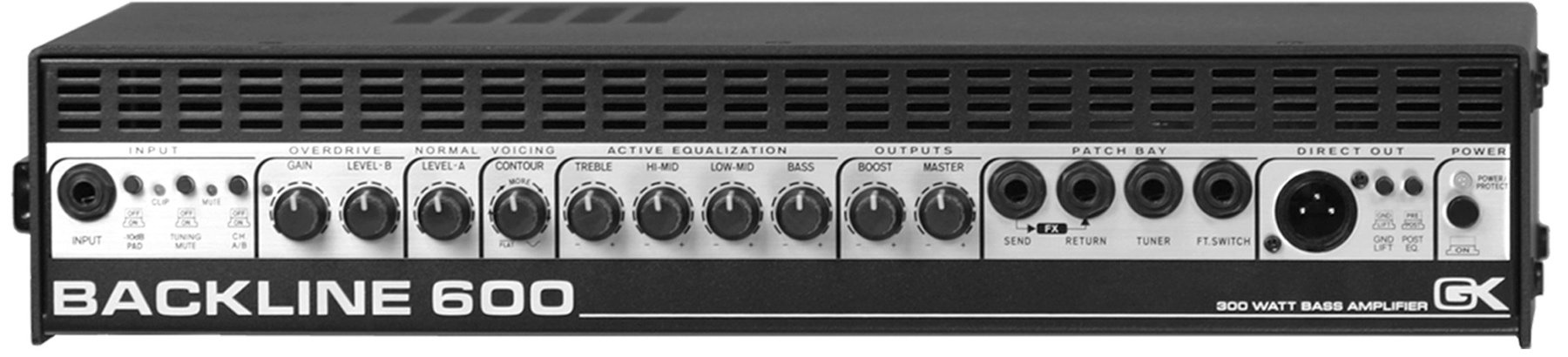 GK Backline 600 - 300W Bass Head