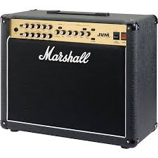 Marshall JVM-215C - 50W Tube 2-Channel Guitar Combo Amp. Capable of modeling other Marshall models including the JCM series heads. 2 FX loops.