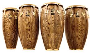 LP Giovanni Series Congas - 3 congas and 1 Tumba. Complete with stands.