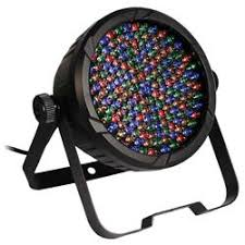 Stellar Labs Par 64 RGBA - A strong LED RGB uplight with great wash.
