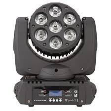 Epsilon Wash-Beam 7 - A 105W LED RGBWA moving head fixture.