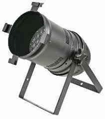 Stellar Labs Par 64 RGBWA LED Can - 36 x 3W RGBWA wash/flood/uplight.