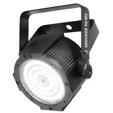 Chauvet DJ Shocker 90 IRC - 90-LED strong LED strobe/blinder. 0 to 28 Hz strobe frequency.