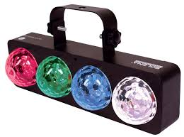 Solena Quad Wave LED - 4 x 3W LED water effect light. Not DMX controllable.