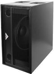 "Grund Audio Design GT-LPB-18CX-HPB - Passive single 18"" subwoofer."