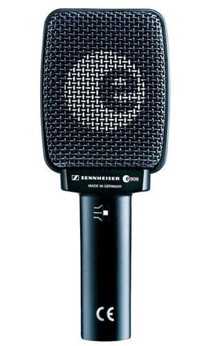 Sennheiser e906 - A Sennheiser dynamic microphone.