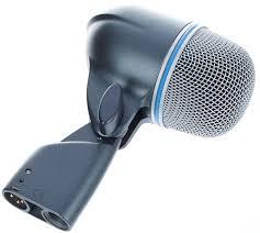 Shure Beta 52 - A Shure dynamic microphone.