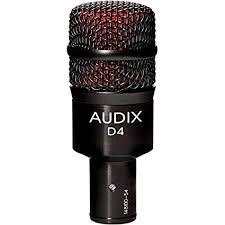 Audix D4 - An Audix dynamic microphone.
