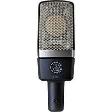 AKG C214 - An AKG condenser microphone.