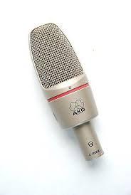 AKG C3000 - An AKG condenser microphone.