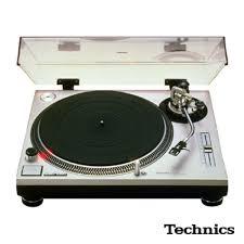 Technics SL-1200 MK II - A classic DJ turntable for Serato discs or vinyl.