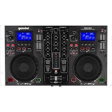 Gemini CDM-3610 - 2-CD DJ workstation with channel EQ.