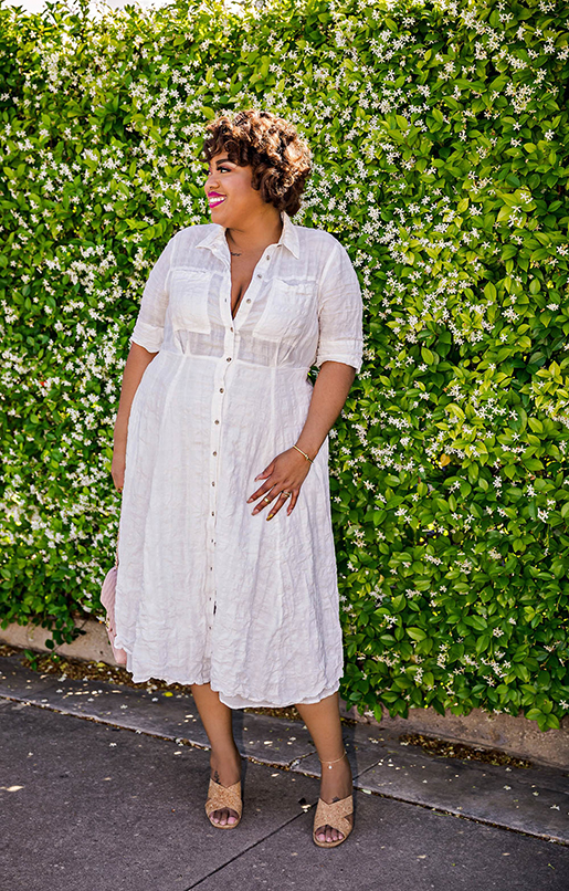 Plus Size Spring Summer Dress