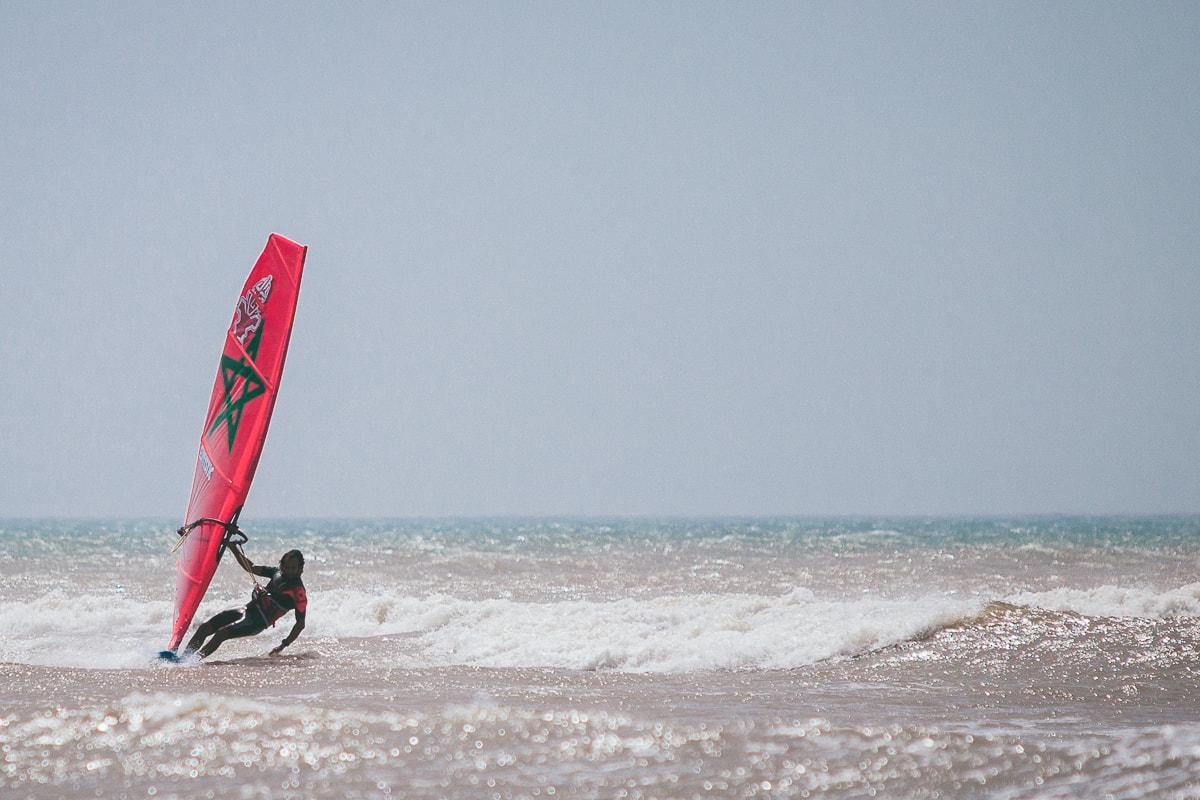 Windsurf. Essaouira, Morocco