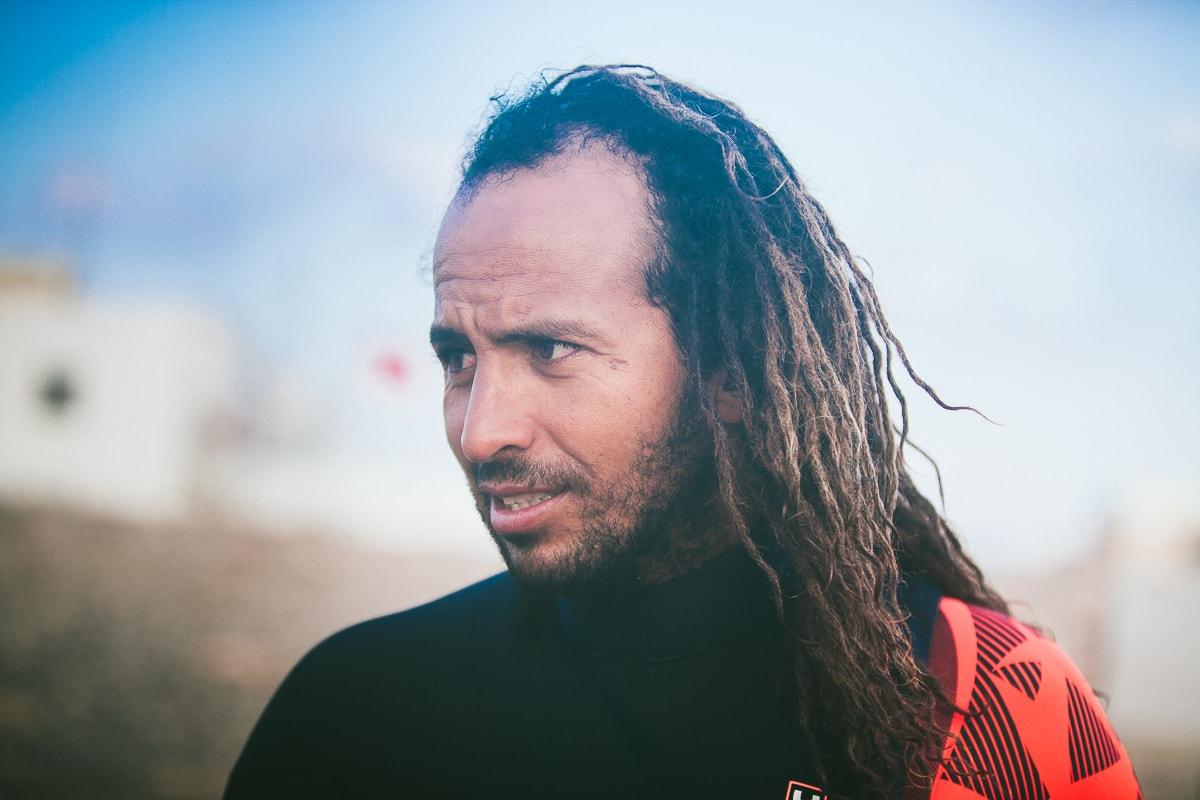 Boujmaa Guilloul, Moroccan windsurfer