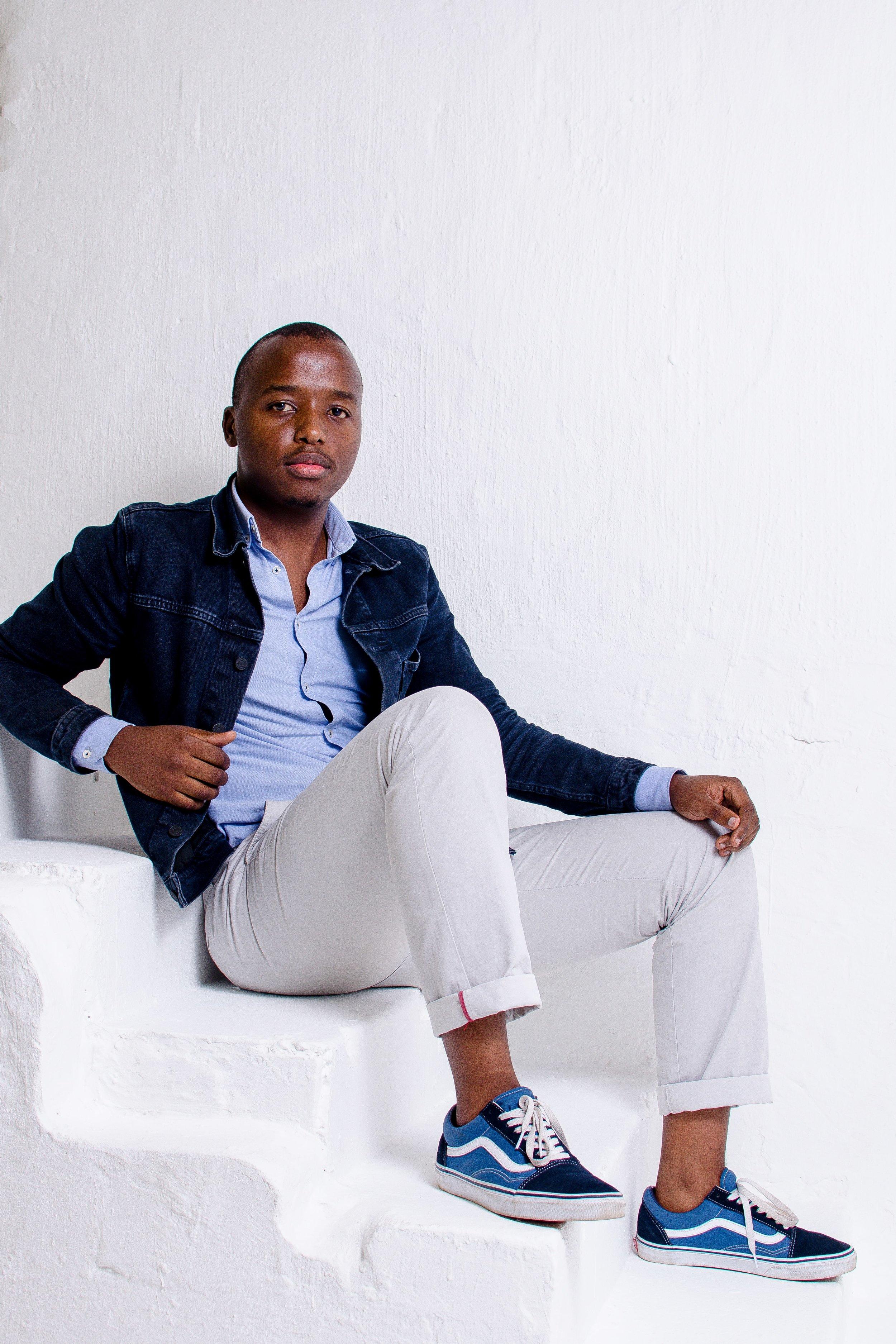 Siyanda Mbele, South African Furniture designer   photo by Njabulo Magubane