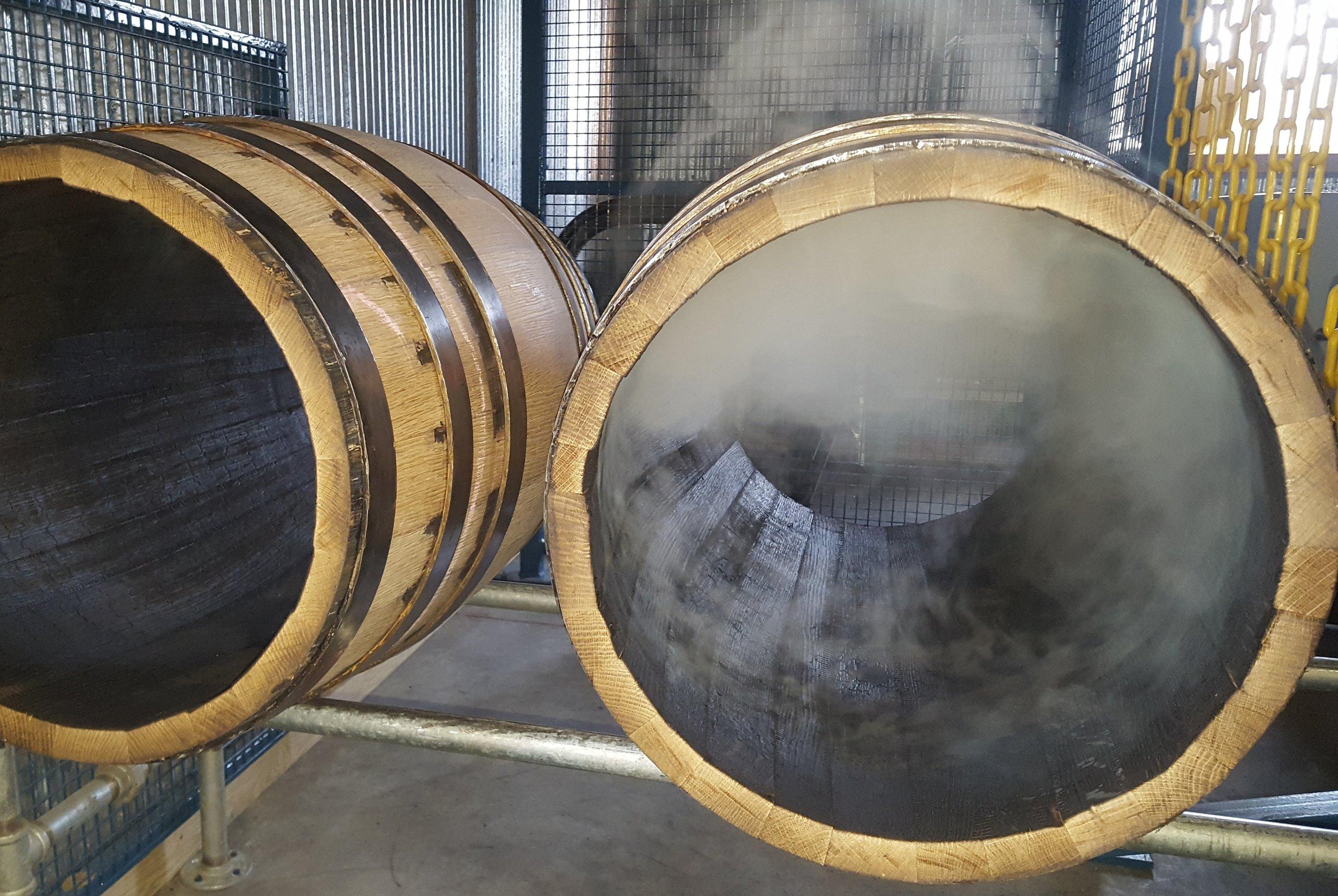 ADK Barrel Cooperage - Our Barrels - Charred Barrels.jpg