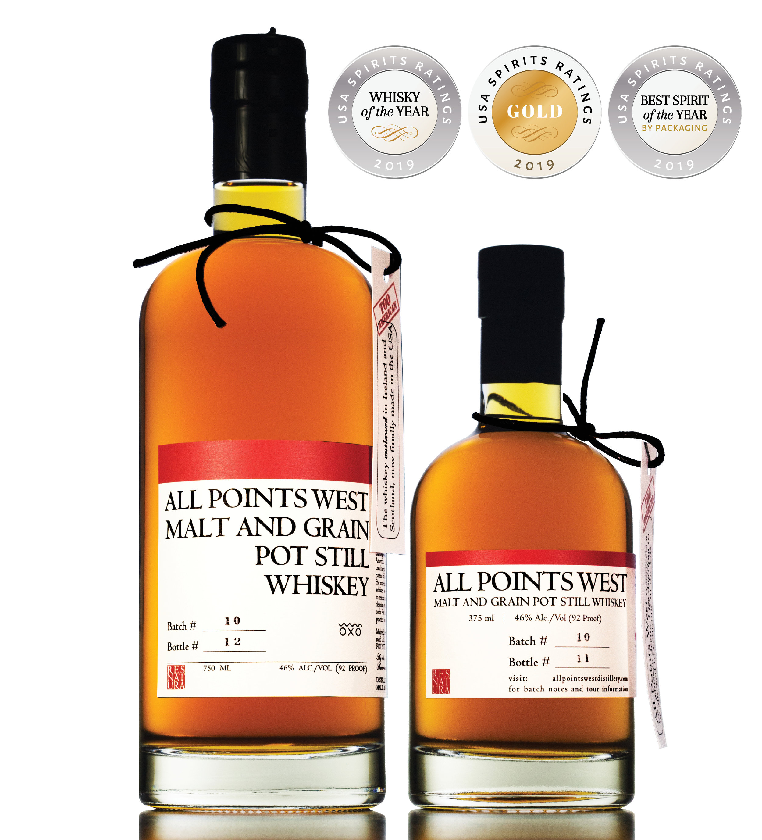 All Points West Award Winning Whiskey