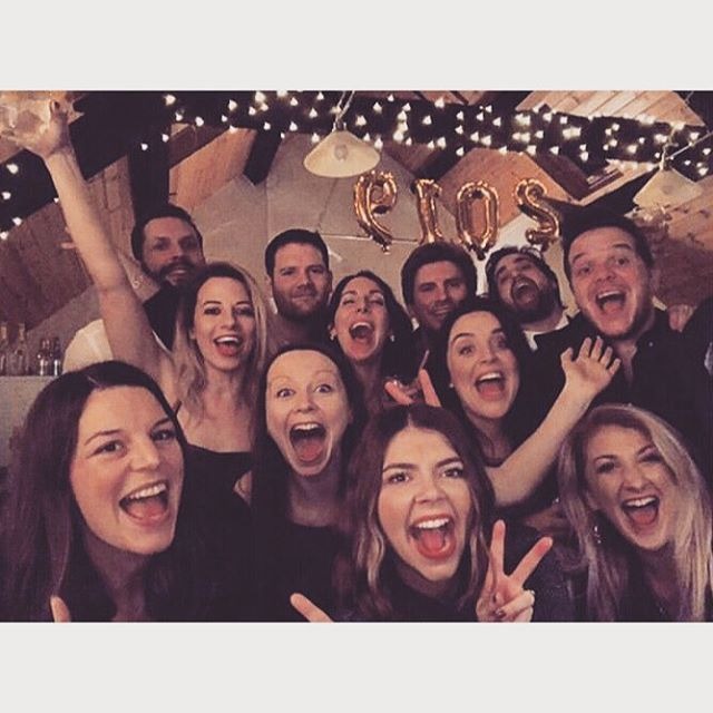Have been off grid ringing in the New Year and the big 3-0 with the best bunch in the land. Thanks for a cracking few days team. Let's go 2019 😘💫