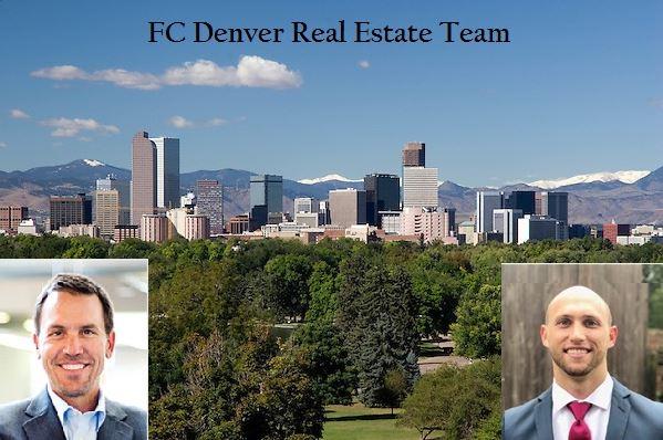 Jim Nolte, Megastar Financial, & Russ Gellman, FiveFour Real Estate, are the FC Denver Real Estate Team