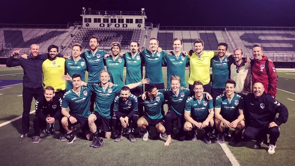 FC Denver starting 11 vs Southwest FC El Paso