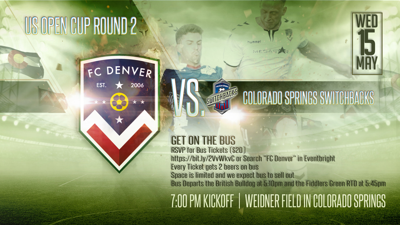 2019 US OPEN CUP ROUND 2 FC Denver vs Colorado Springs Switchbacks FC