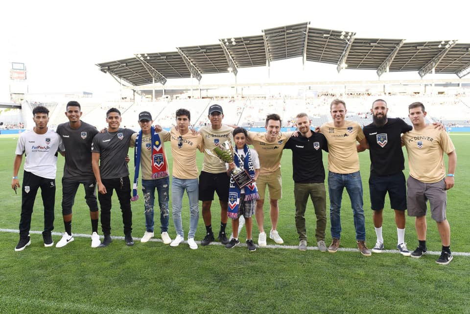 Heritage Cup champs take the field at Dick's Sporting Goods Park