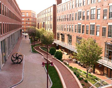 Overview of SOWA arts and design district.