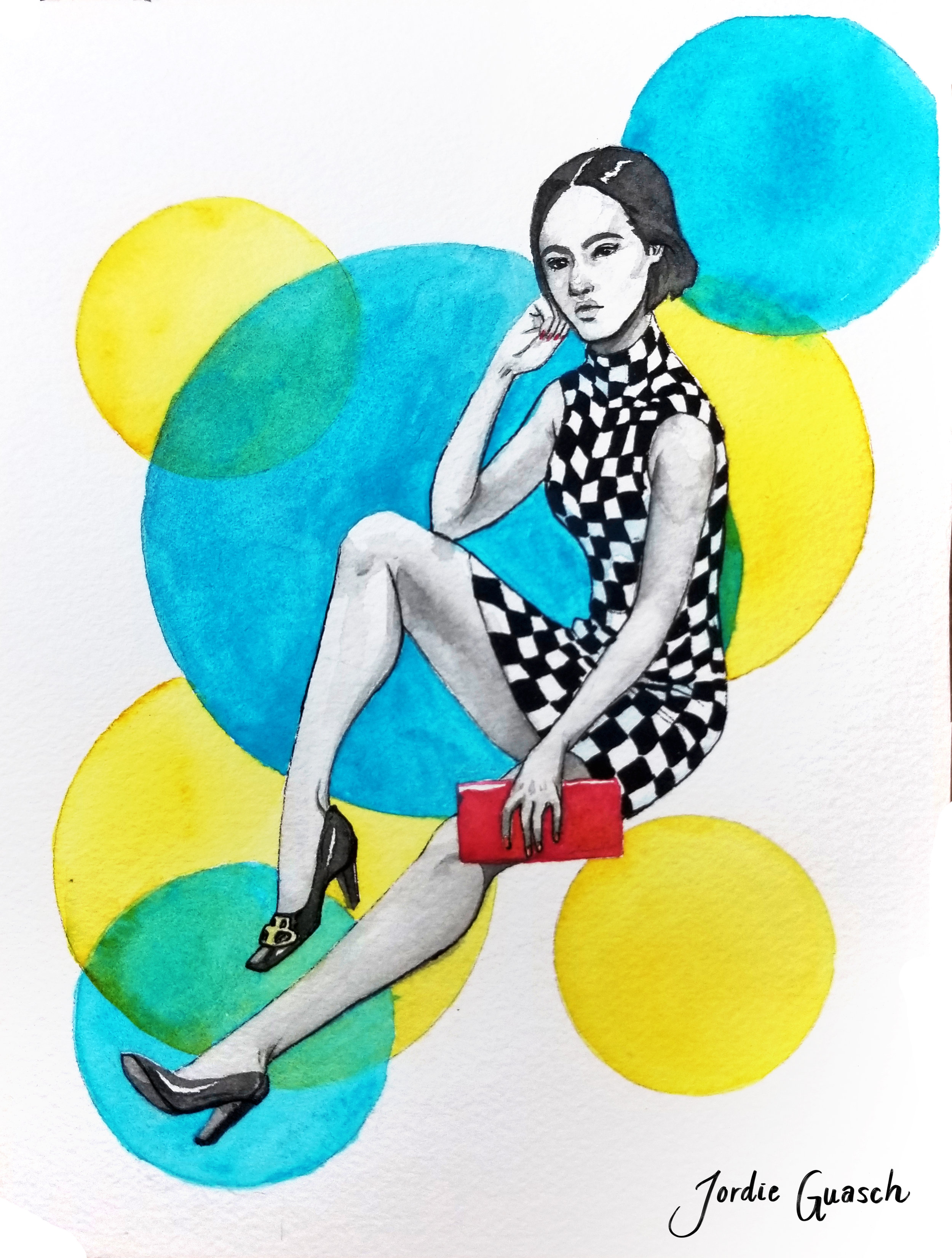 12. Balenciaga, Watercolors