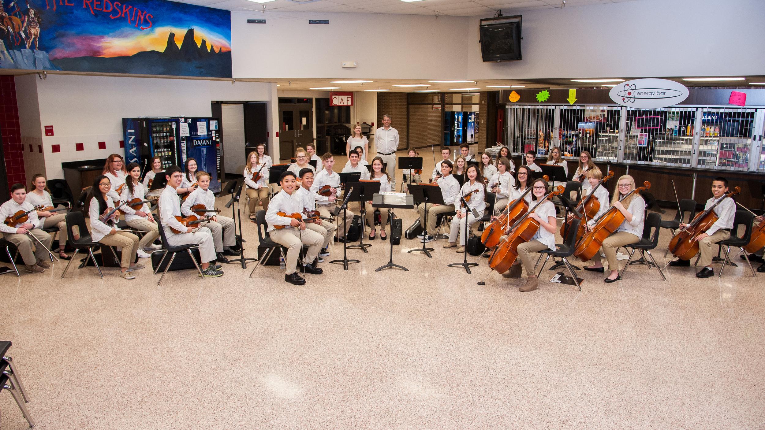 Preparatory Orchestra 2016