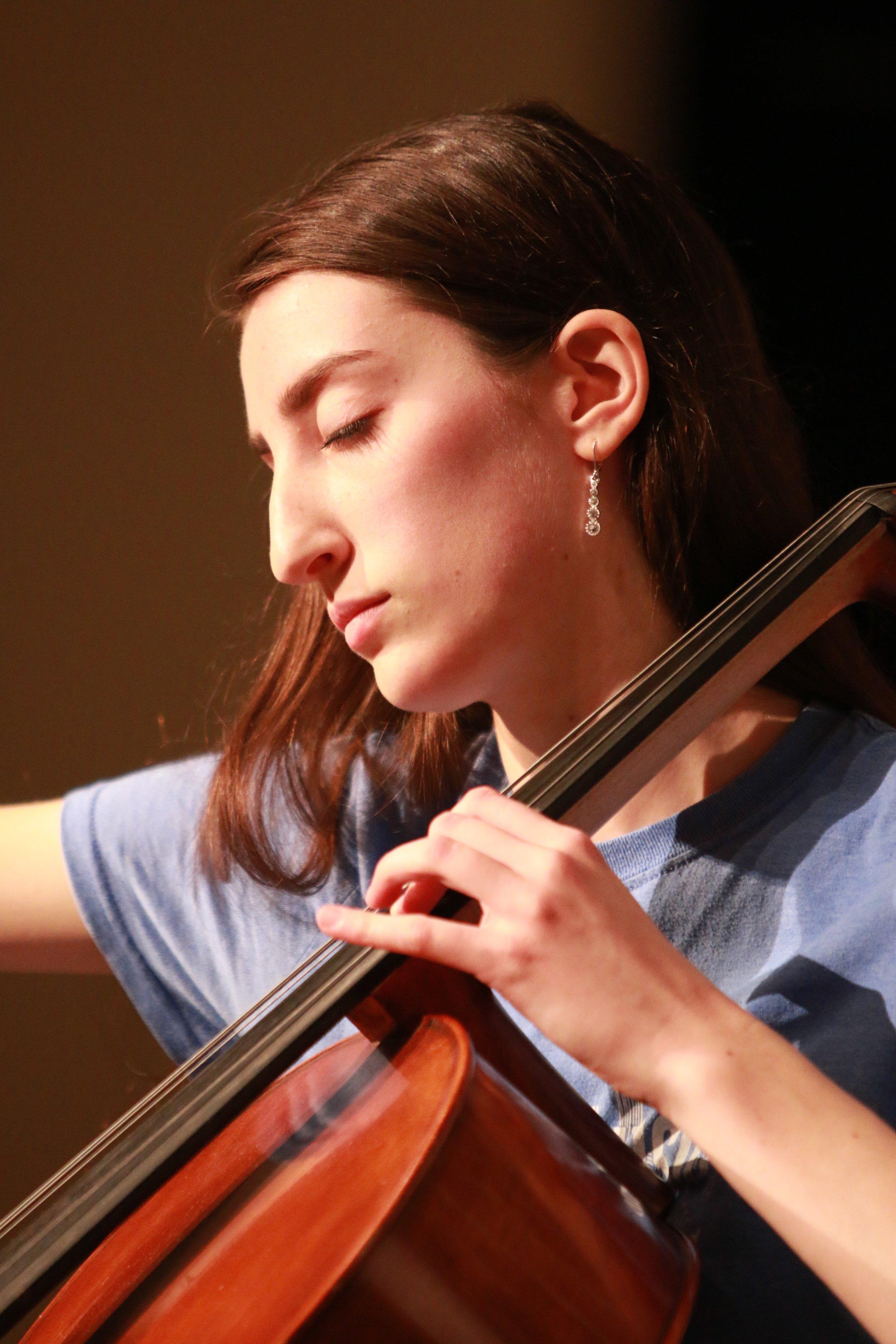 Jennifer Ripley - SO 2017 Cellist