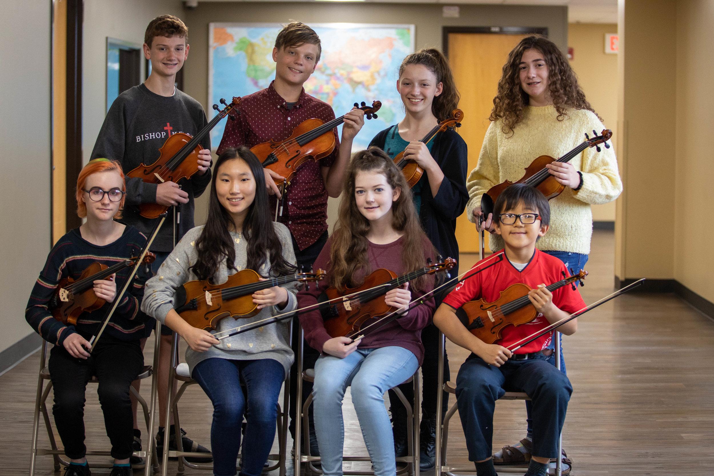 PO 2nd Violins - October 2018
