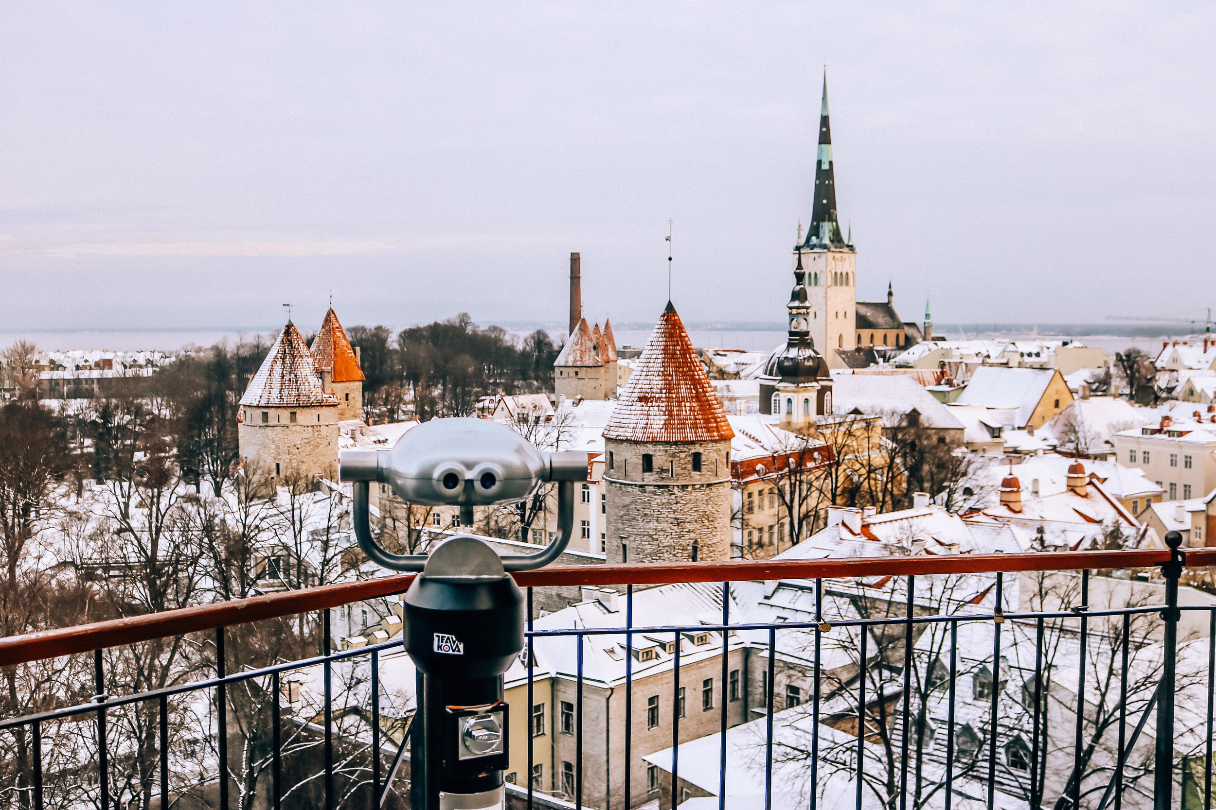 A weekend in Tallinn, Estonia -