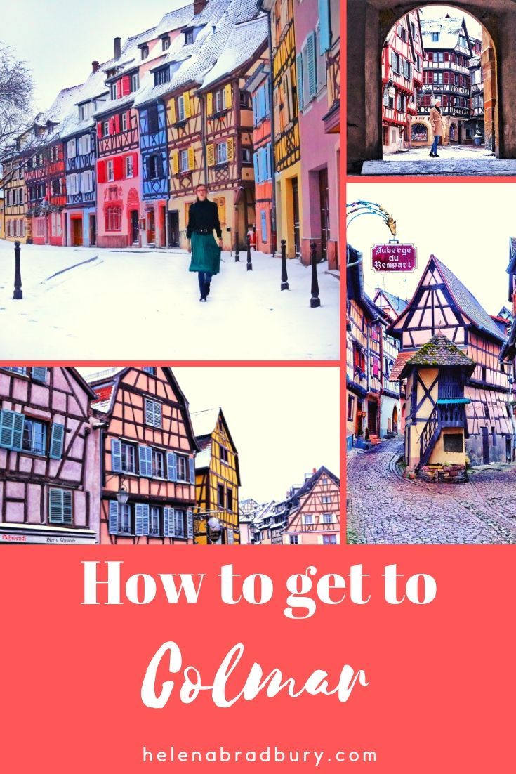 How to get to Colmar | Alsace | Helena Bradbury | Travel Blogger | transport | Basel | Switzerland | Paris | France