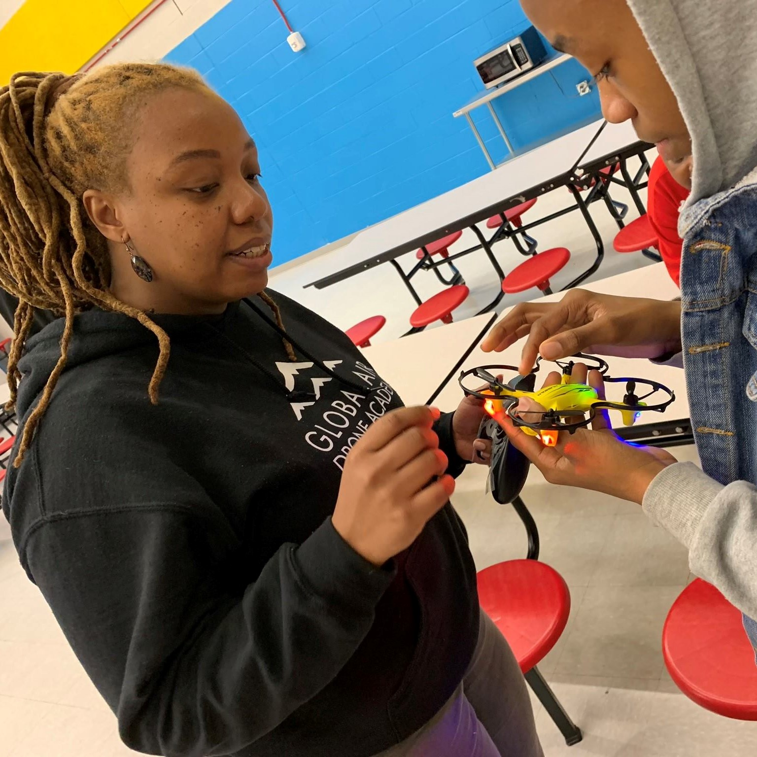 Intermediate Flight School - Grades: 5 - 10Length: 8 Weeks, meets once a weekActivities: Group drone building, flight skills and intermediate drone coding. EVERY STUDENT TAKES HOME A DRONE!Price: $295 per student