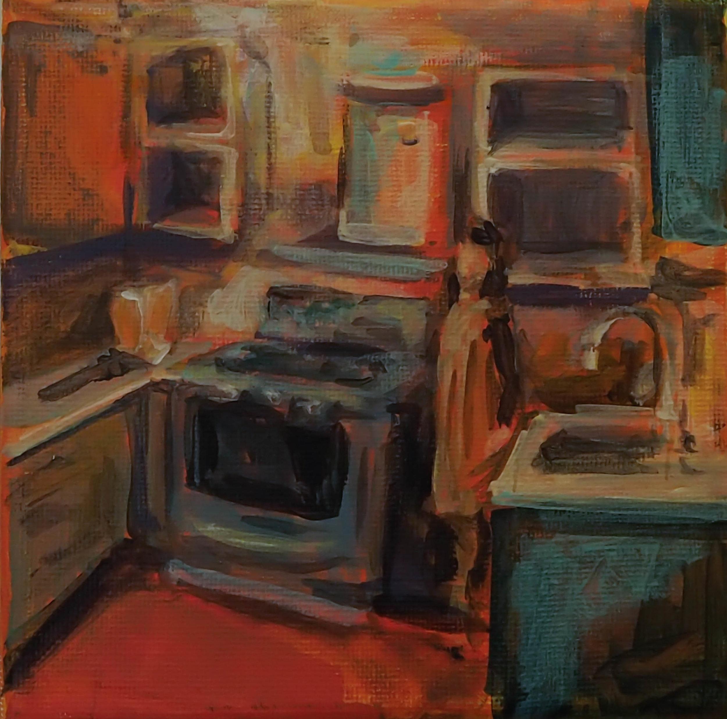 "Vera's Kitchen (5"" x 5"")"