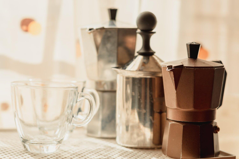 Moka pot coffee maker
